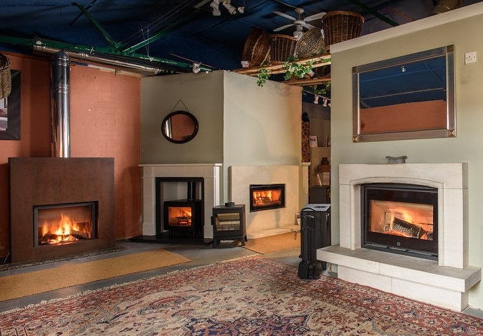Clearview, Charnwood Upper Showroom Manor House Stoves