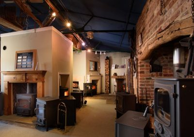 Clearview Charnwood Manor House Stoves Showroom
