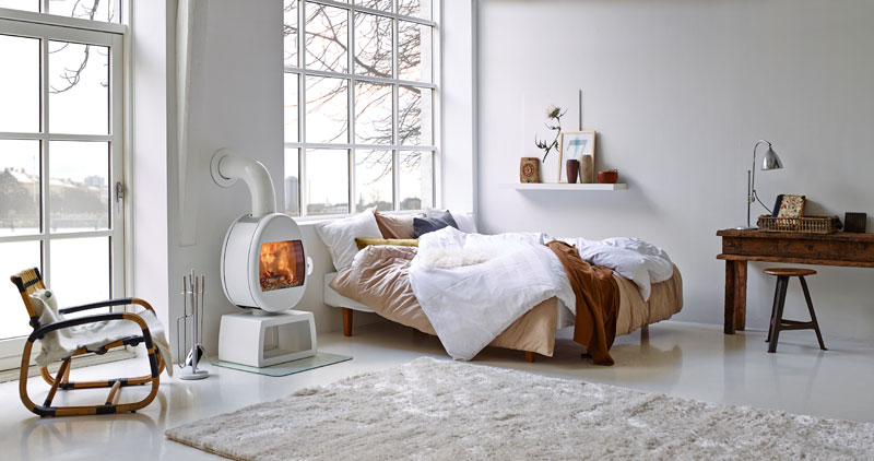 Location, Location, Location. Alternatives to the traditional living space fireplace